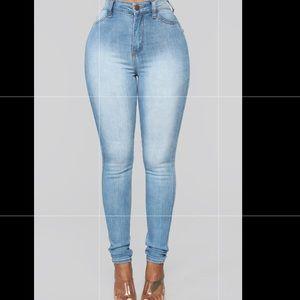Fashion Nova Plus Jeans